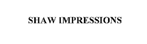 SHAW IMPRESSIONS