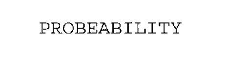 PROBEABILITY