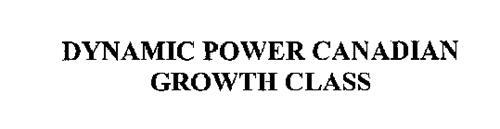 DYNAMIC POWER CANADIAN GROWTH CLASS
