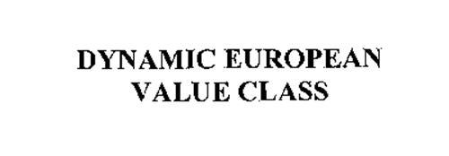 DYNAMIC EUROPEAN VALUE CLASS