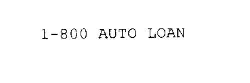 1-800 AUTO LOAN
