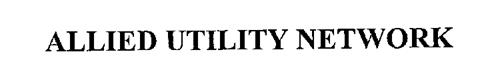 ALLIED UTILITY NETWORK