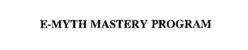 E-MYTH MASTERY PROGRAM