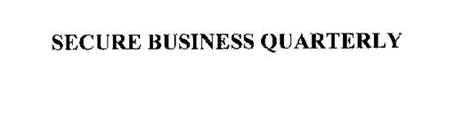 SECURE BUSINESS QUARTERLY