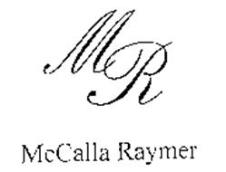 MR MCCALLA RAYMER