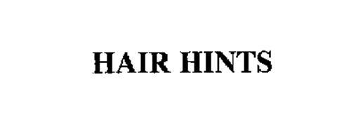 HAIR HINTS