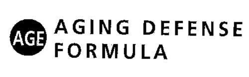 AGE AGING DEFENSE FORMULA