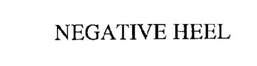 NEGATIVE HEEL