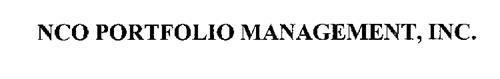 NCO PORTFOLIO MANAGEMENT