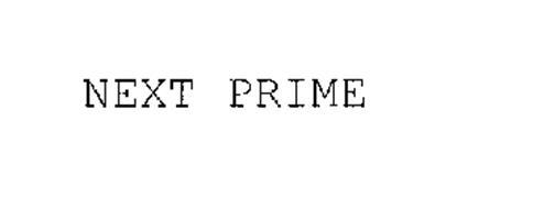 NEXT PRIME