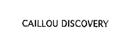CAILLOU DISCOVERY
