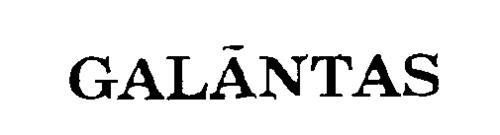 GALANTAS