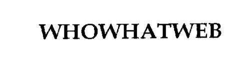 WHOWHATWEB