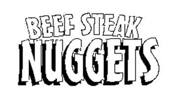 BEEF STEAK NUGGETS