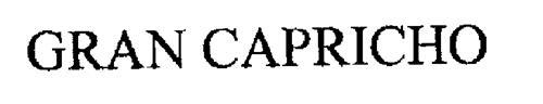 GRAN CAPRICHO
