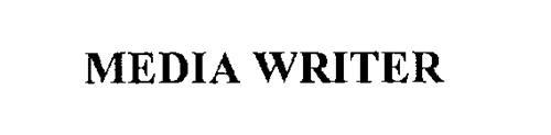 MEDIA WRITER