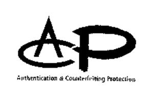 ACP-AUTHENTICATION & COUNTERFEITING PROTECTION
