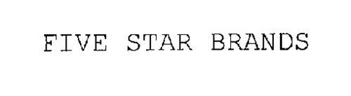 FIVE STAR BRANDS