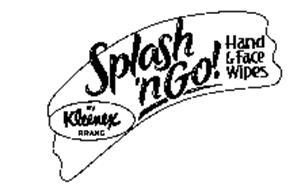 SPLASH 'N GO! HAND & FACE WIPES BY KLEENEX BRAND