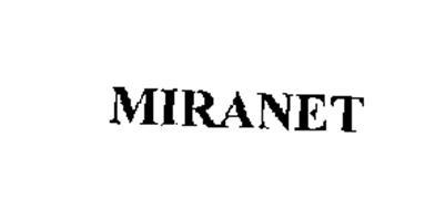 MIRANET Trademark Of MIRANT CORPORATION Serial Number 76242201