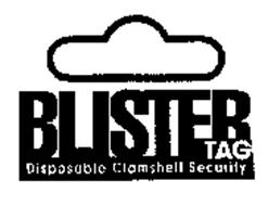 BLISTER TAG DISPOSIABLE CLAMSHELL SECURITY