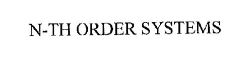 N-TH ORDER SYSTEMS