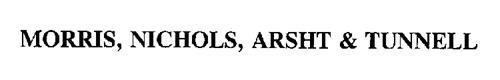 MORRIS, NICHOLS, ARSHT & TUNNELL