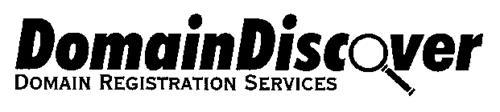 DOMAINDISCOVER DOMAIN REGISTRATION SERVICES