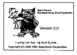 BOARDTOWN WOMBAT HELP DESK SYSTEM VERSION 3.0