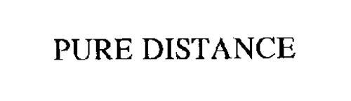 PURE DISTANCE