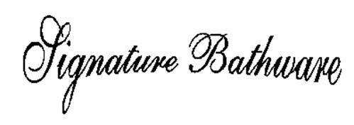 SIGNATURE BATHWARE
