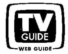 TV GUIDE WEB GUIDE