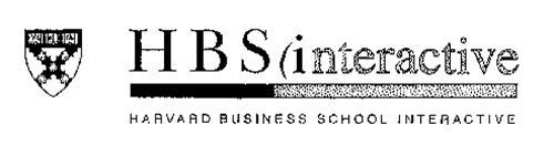 HBS INTERACTIVE HARVARD BUSINESS SCHOOL INTERACTIVE
