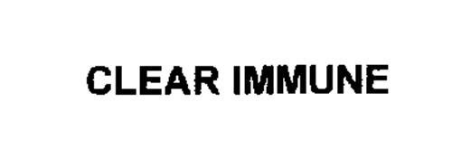 CLEAR IMMUNE