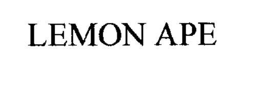 LEMON APE
