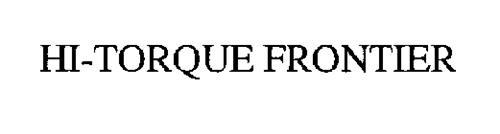 HI-TORQUE FRONTIER