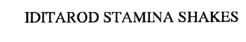 IDITAROD STAMINA SHAKES