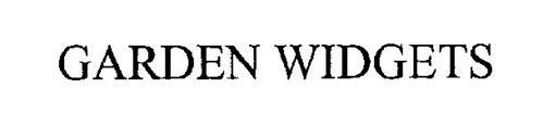 GARDEN WIDGETS
