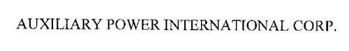 AUXILIARY POWER INTERNATIONAL CORP.