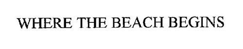 WHERE THE BEACH BEGINS