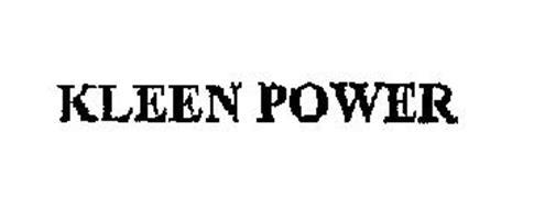 KLEEN POWER