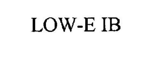 LOW-E IB