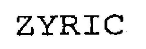 ZYRIC