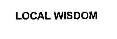 LOCAL WISDOM
