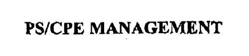 PS/CPE MANAGEMENT
