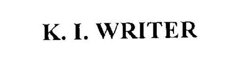 K. I. WRITER
