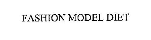 FASHION MODEL DIET