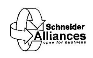SCHNEIDER ALLIANCES OPEN FOR BUSINESS