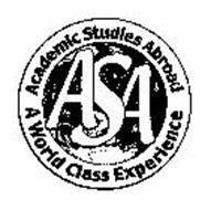 ASA ACADEMIC STUDIES ABROAD A WORLD CLASS EXPERIENCE