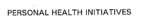 PERSONAL HEALTH INITIATIVES